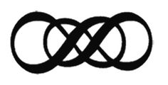 Double infinity tattoo