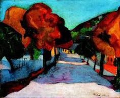 Sandor Ziffer, (1880-1962), hungarian post-impressionist. This work shows the influence of german expressionism which Ziffer encountered on his trips to Berlin