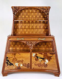 Console Desserte Louis Majorelle (French, 1859–1926) Console Desserte, ca. 1900 Mixed woods, ormolu and mother-of-pearl