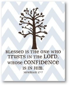 Confident in Jesus.