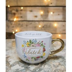 Ankit, Bitch Mug, $24.99, available at Ankit.