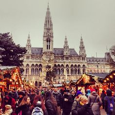 Vienna christmas market viking river cruise: visiting europe's christmas markets..we are doing this etc soon! Been wanting to for so long & can't wait
