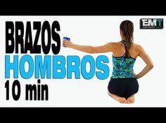 Brazos y Hombros para mujeres 10 min   Día 14 Cuerpo Perfecto en 4 semanas - YouTube