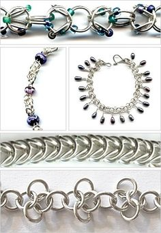 chain maille patterns - Google Search