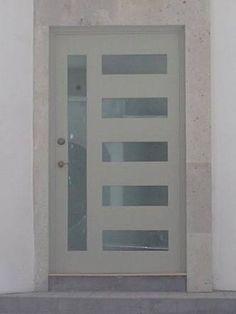 Puerta de herreria minimalista beautiful front doors and design - Puertas de herreria para entrada principal ...