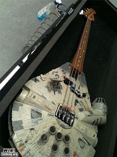 Millenium Falcon Bass for an interplanetary sound. Star Wars Rock