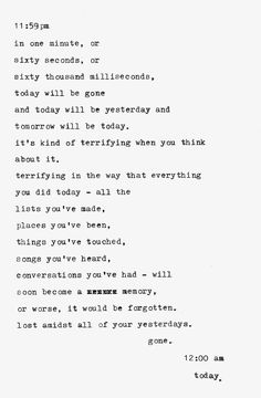 Life Quotes : QUOTATION - Image : Quotes Of the day - Description .it's kind of terrifying when you think about it Sharing is Caring - Don't forget Now Quotes, Lyric Quotes, Poetry Quotes, Cute Quotes, Words Quotes, Wise Words, Quotes To Live By, Sayings, Silence Quotes