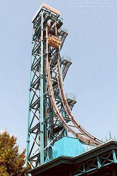 The good ol' Demon Drop, no longer at Cedar Point.