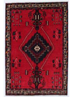 Tapis persans - Afshar  Dimensions:244x165cm