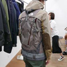 Junya Watanabe MAN x The North Face / SS18<br><br>#utw #techwear #junyawatanabe #tnf #thenorthface #hybrid #streetwear #urbantechwear