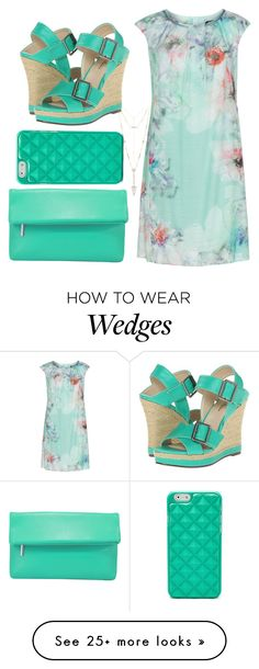 """SUMMEER STYLE"" by naomy-nona on Polyvore featuring KS Selection, La Regale, FOSSIL, Michael Antonio and House of Harlow 1960"