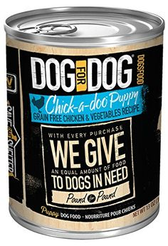 DOG for DOG 2031 Chickadoo Puppy Wet Dog Food Size 13 *** You can get more details by clicking on the image-affiliate link.