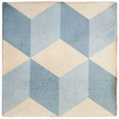 Carrelage imitation carreau ciment sol et mur 20 x 20 cm - VI0203020