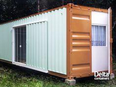 Projetos de moradia com containers