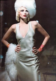 Vogue Italia August 1994 Day Into Night Photographer: Steven Meisel Stylist: Grace Coddington