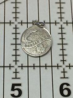 Sterling Silver 925 Vintage Bracelet Charm  by AntiqueAlligator