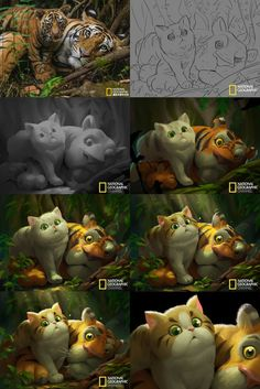 ArtStation - Cartoon National Geographic 09, Crazy JN: