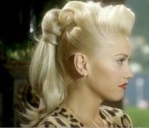 """Gwen Stefani in the """"Cool"""" music video. I love the hair!"""