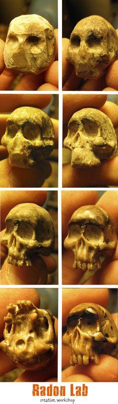 wood craft. work in progress. Tutorial. wood work. wooden Skull. wood working. miniature.  woodcarving. hand carved. Wood art. wood handmade.  #skull #workinprogress #woodworking #tutorial #woodcarving #handcrafted #miniature