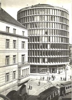 Late Modernism, Circular Buildings, Poland, Multi Story Building, Travel, Functionalism, Constructivism, Viajes, Destinations