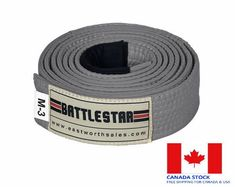 WHITE Jiu Jitsu BJJ Belt 100/% Cotton Pro Quality IBJJF Standard by BATTLESTAR
