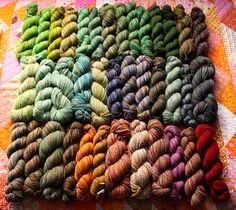 Handspun yarn.