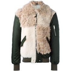 Diesel furred front bomber jacket ($1,069) ❤ liked on Polyvore featuring men's fashion, men's clothing, men's outerwear, men's jackets, black, mens fur jacket, diesel mens jacket and mens fur bomber jacket