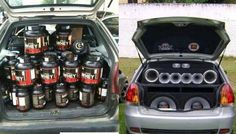 My car vs your car ;-) #FitnessHumor