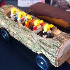 Pinewood Derby _ log ride