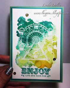 Watercoloured Carousel Birthday
