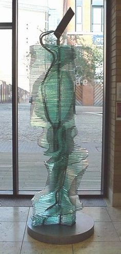 'Sugar Daddy' by Stourbridge Glass Sculptor Harry Seager.