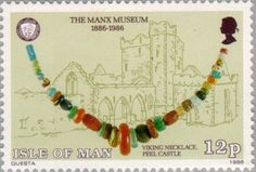 Sello: Manx Museaum (Isla de Man) (Manx Museaum) Mi:IM 302,Yt:IM 297,AFA:IM 287