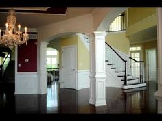 Archways and Molding work - YouTube