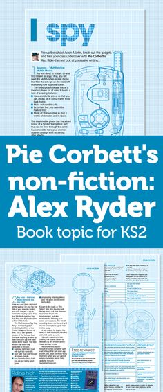 Pie Corbett's Non-Fiction – Persuasive Writing With The Alex Ryder Series Talk 4 Writing, Teaching Writing, Teaching English, Teaching Kids, Teaching Resources, Persuasive Text, Persuasive Writing Prompts, Writing Topics, Essay Writing