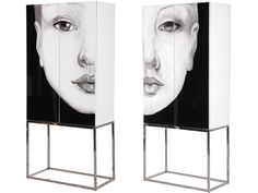 Out There Interiors, Vogue Face Cabinet