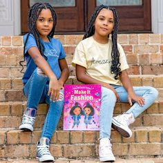 Introducing your new favorite children's book stars: The McClure Twins! This adorable and fun story about embracing differences is perfect for fans of Juno Valentine and Fancy Nancy. 📸 @mccluretwins