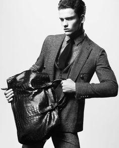 Giorgio Armani Men Fall-Winter 2012/2013 Campaign Elegance in its Purest