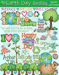 Get your 'Earth Day Smiles' this week & you'll enjoy 25% off the regular price! With this collection, you'll find inspiring images for Earth Day, Arbor Day, recycling programs & MORE. Limited time only, sale ends 4/15/15
