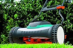 Gardena 4025-U 15-Inch 25-Volt 3.2 amp Lithium-Ion Cordless Push Reel Lawn Mower Reel Lawn Mower, Garden Landscaping, Outdoor Power Equipment, Landscape, Homestead, Plants, Wolf, German, Amp