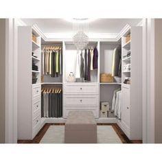 His And Hers Walk In Closet Layout Custom Cabinets 63 Ideas Master Closet Design, Walk In Closet Design, Master Bedroom Closet, Closet Designs, Bathroom Closet, Entryway Closet, Master Suite, California Closets, Ideas Armario