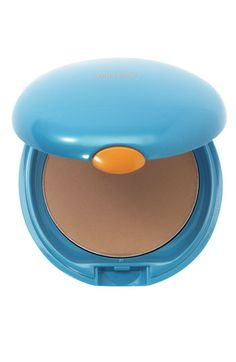 Love this product. A compact powder with an SPF. Beat the shine and the rays. Shiseido Sun Protection Compact Foundation Refill SPF 34 PA+++ available at #Nordstrom
