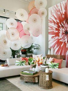 Image result for japanese umbrella mural