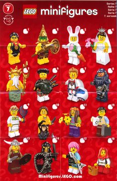 lego minifigures series 7. Will only has the computer geek.