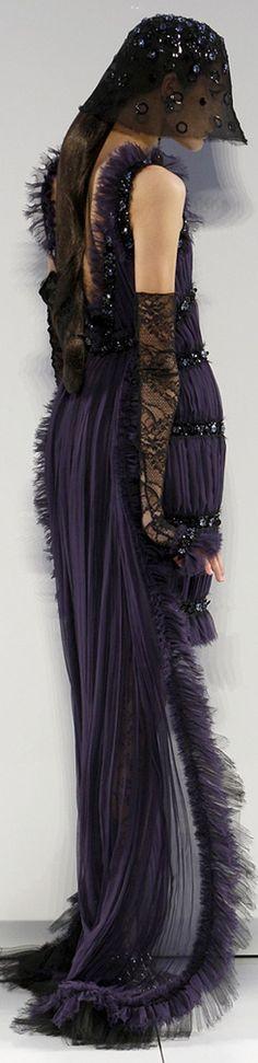 #Chanel #black #dress #couture #parisfashionweek #runway #style