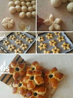56 Gorgeous from Each Other of Homemade Pastries, Easy Food Decorations - Delicious Food Kids Pastry Recipes, Dessert Recipes, Cooking Recipes, Baking Desserts, Art Du Pain, Cute Food, Yummy Food, Kids Meals, Easy Meals