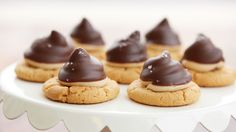 Wow your guests with these decadently delicious cookies filled with a mini surprise!