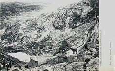 Nordland fylke Narvik Fjällvägen vid Björnfjället Ofotbanen Utg Mesch, Kiruna tidlig 1900-tall