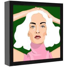 Art Print Poster Canvas Kate Moss #37