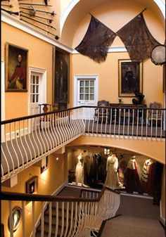 Inveraray Castle - North West Stairs - Photography © Nick McCann, © Tracy McCulloch
