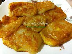 Tikoy NOCHE BUENA http://www.pinoycookingrecipes.com/tikoy.html